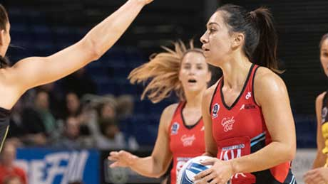 Suncorp's Samon Nathan uses flexi-working to play for Tactix